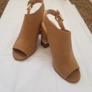 APT 9 Defined Comfort High Heel Tan Sandals
